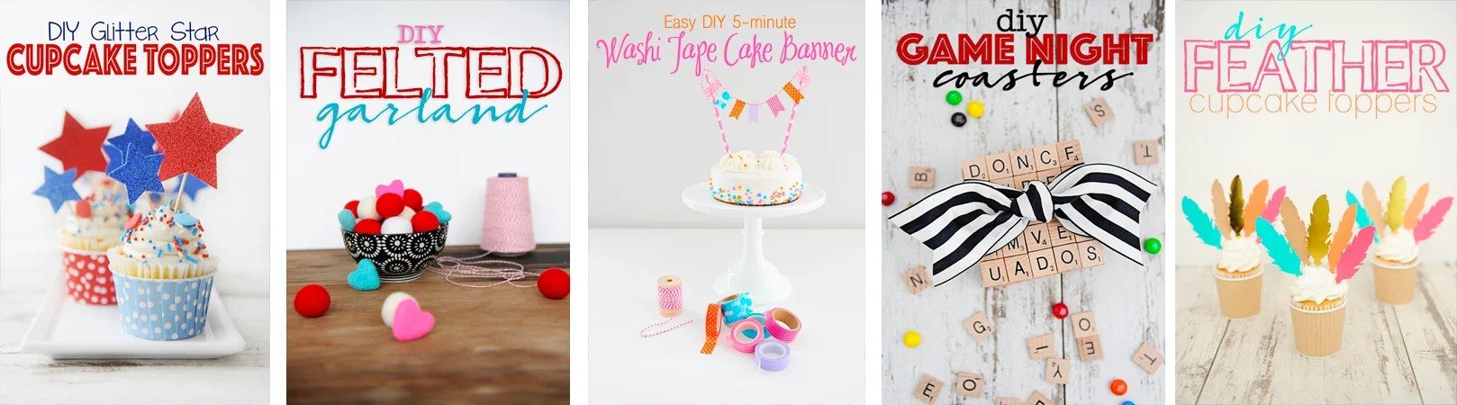 Diy collage post footer