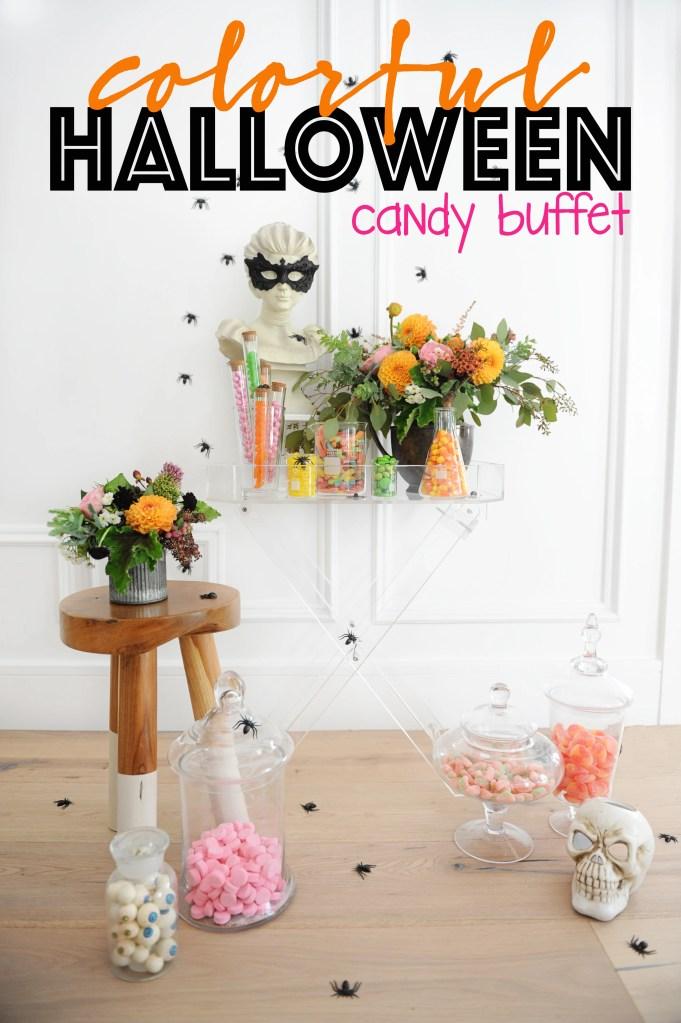 Halloween candy buffet1