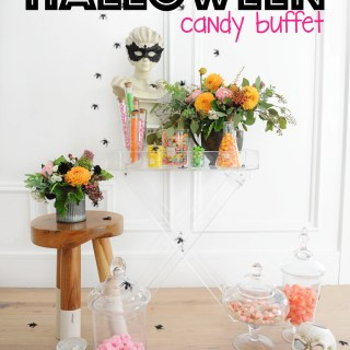 Halloween candy buffet1