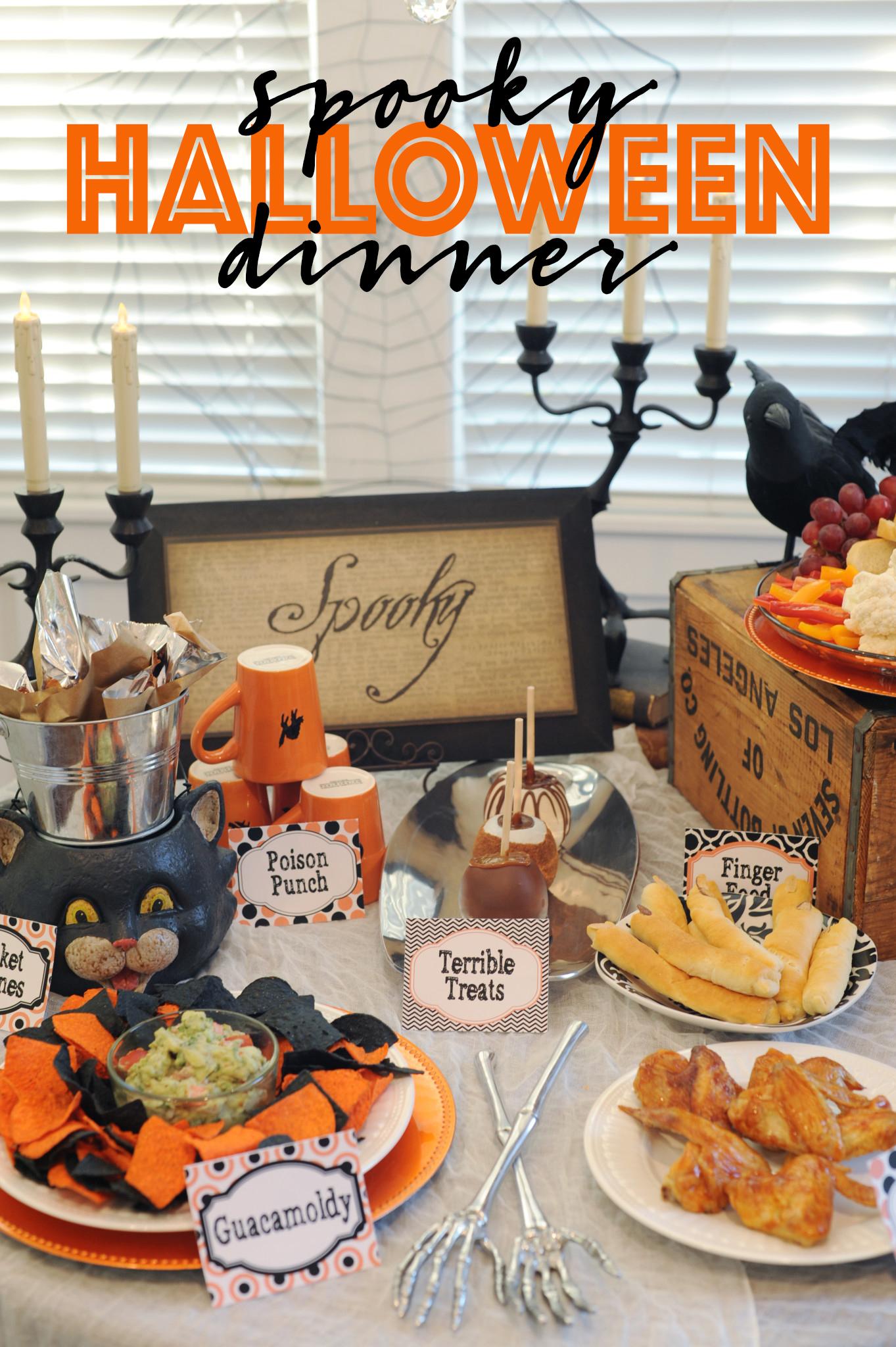 Eat: Spooky Halloween Menu