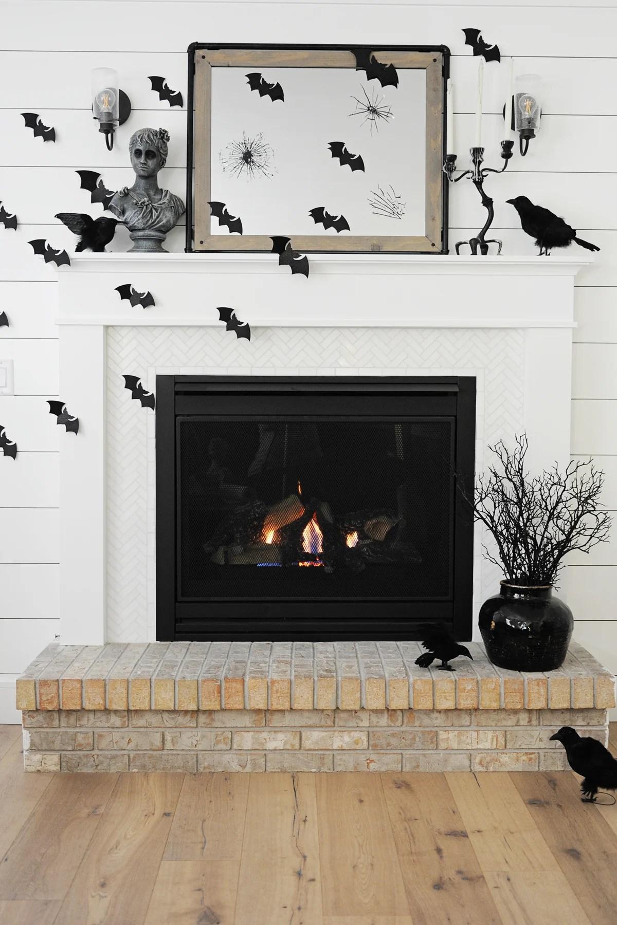 halloween mantel decor ideas