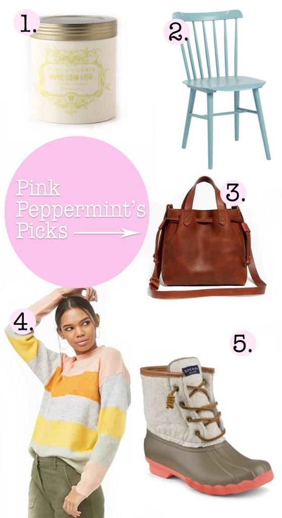 Pink peppermints picks oct 10 2018