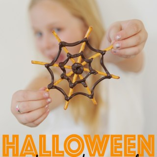 Spiderweb snacks