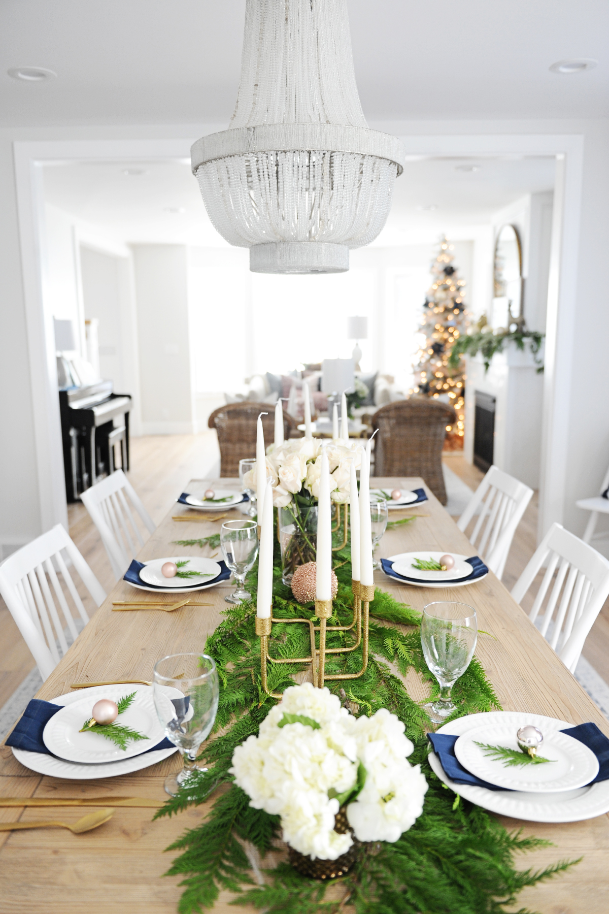 Christmas dining room decorating ideas 1