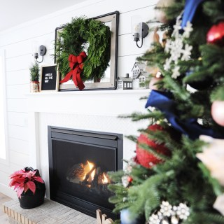 Christmas family room decorating ideas 5