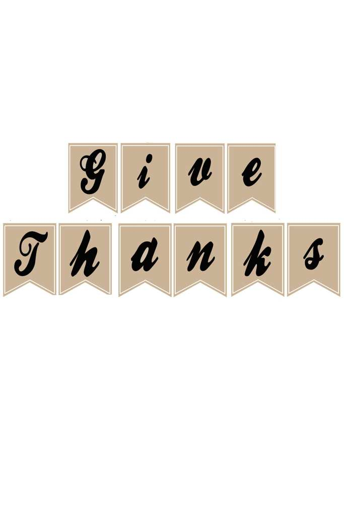 Free give thanks banner image featured