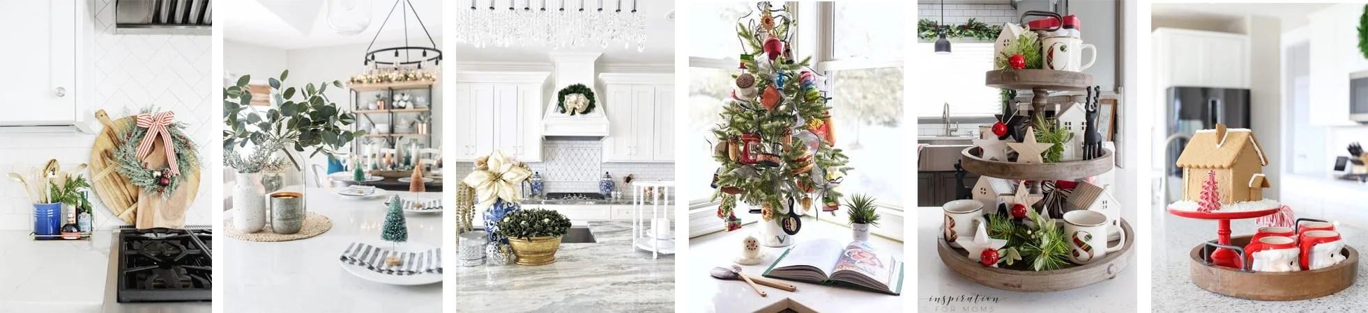 Monday collage christmas kitchen tour