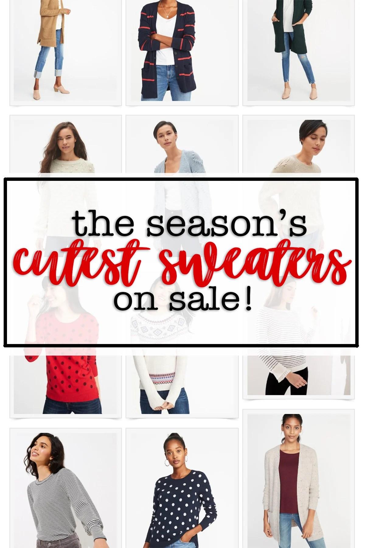 The seasons cutest sweaters