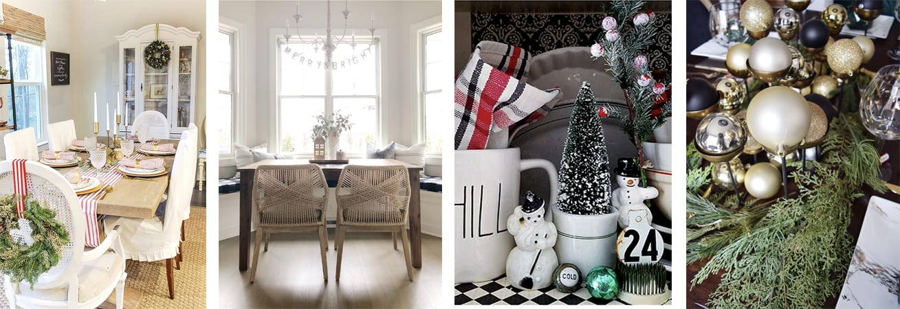 Wednesday christmas kitchen collage 2
