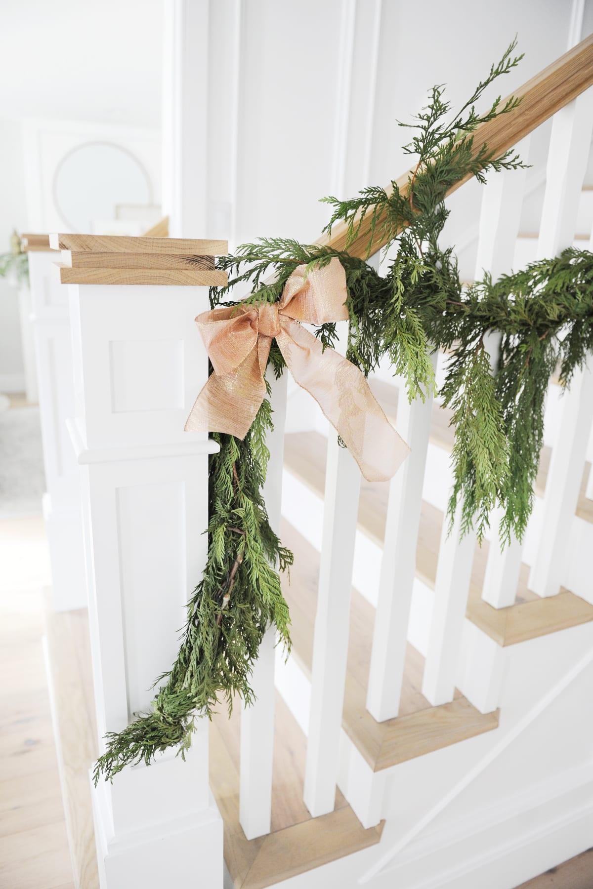 Christmas entry way decor ideas
