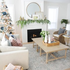 Images Of Christmas Living Room Decorations Window Shades 31 Dazzling Decor Ideas Pink Peppermint Design Decorating 3