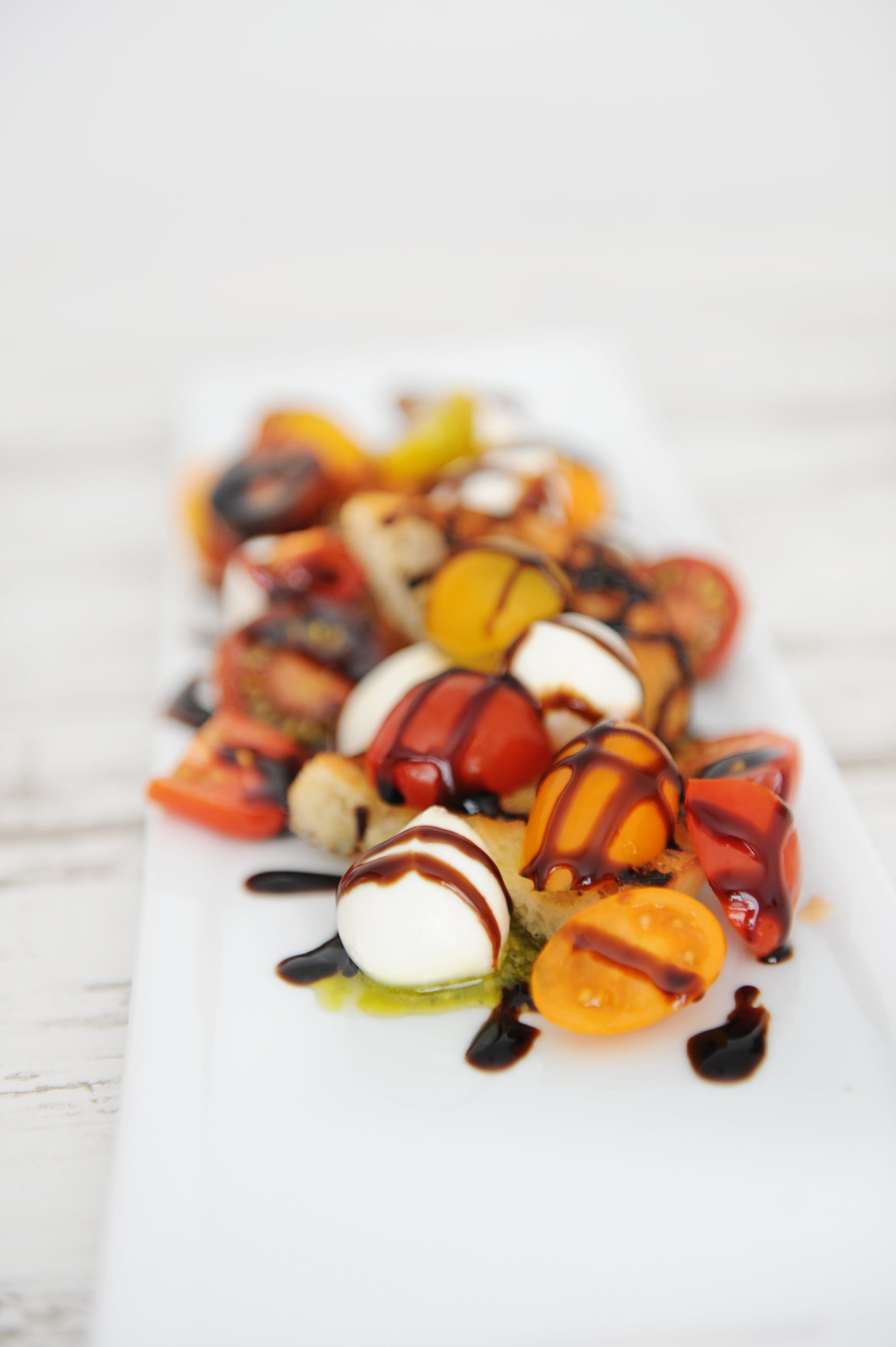 Easy burrata and heirloom tomatoes appetizer recipe step 4