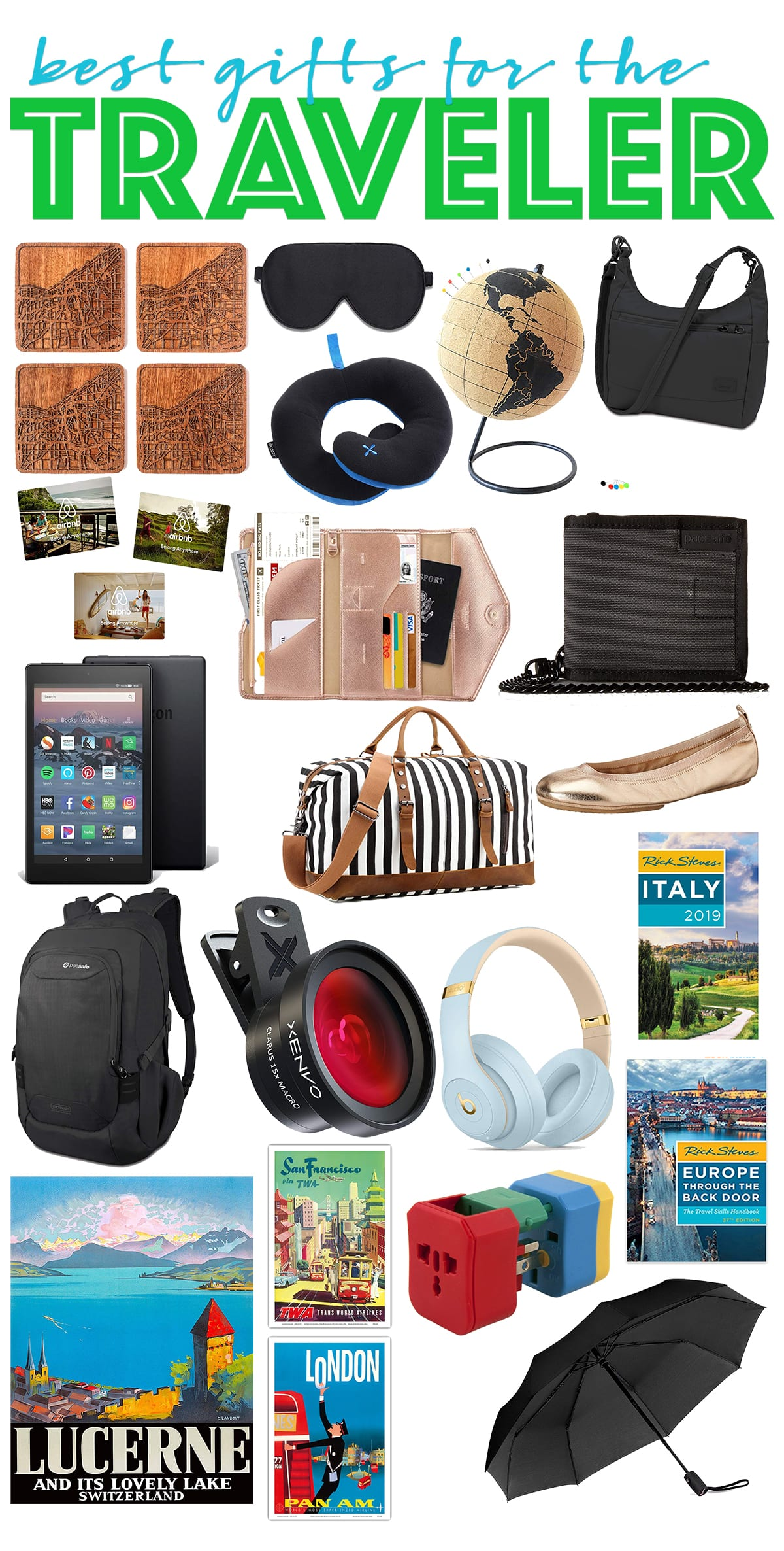 The Best Travel Gear, Essentials and Gifts
