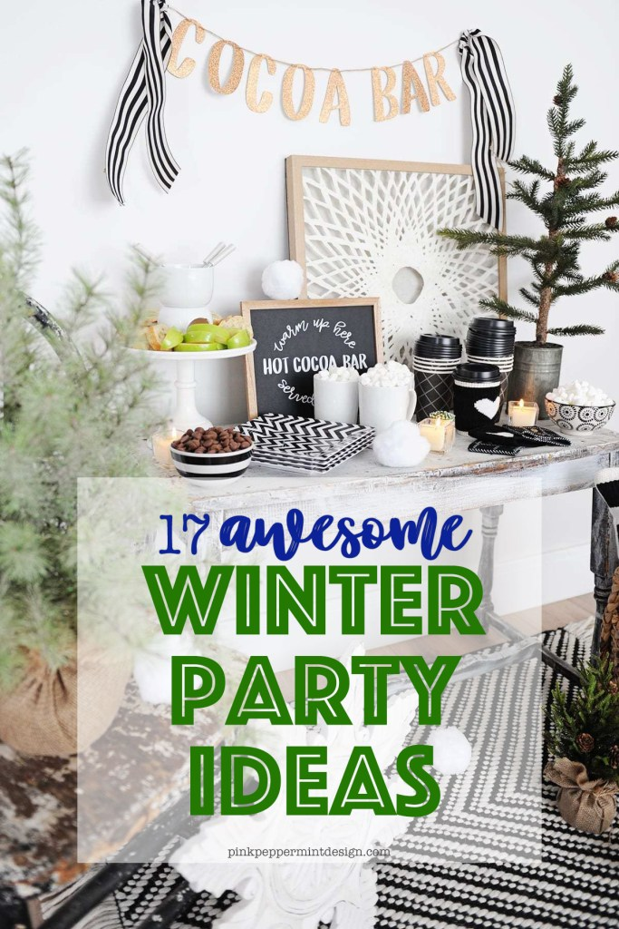 17 Awesome Winter Party Ideas: Ski Party Themes