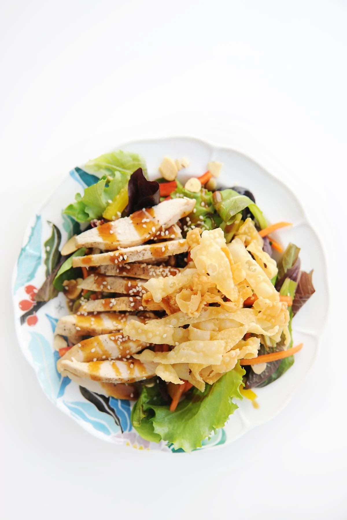 Nordstrom Cafe Recipes for Salads : Chinese Chicken Salad Recipe