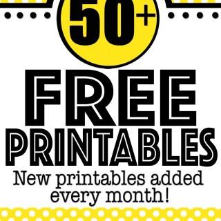 free printables online