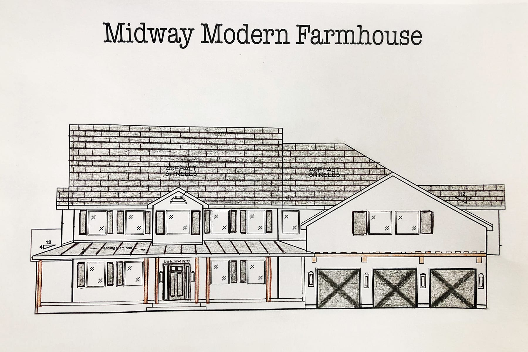 modern farmhouse plans with wrap around porch
