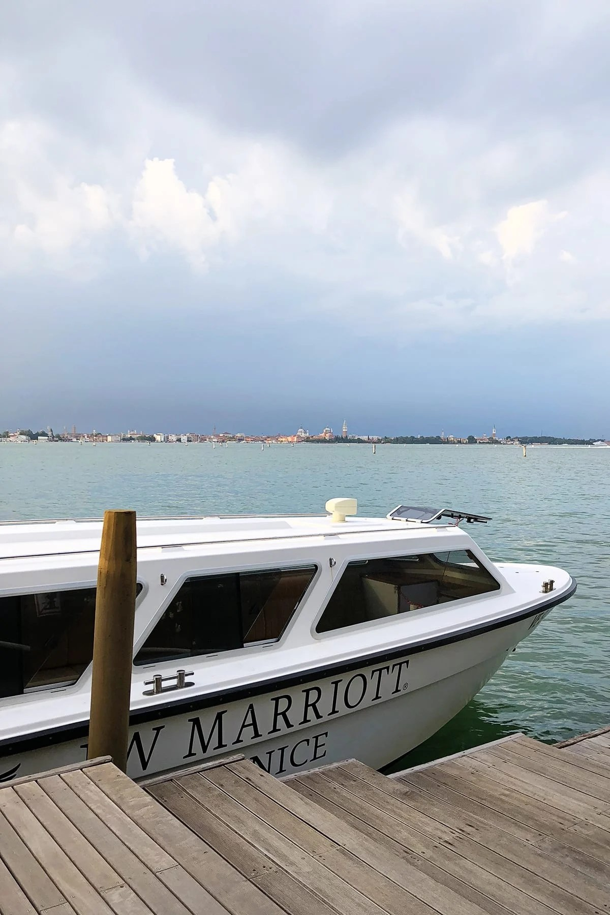 Jw marriott venice italy private water taxi
