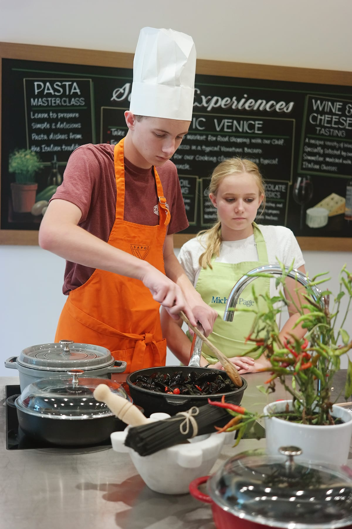 Sapori cooking academy 7