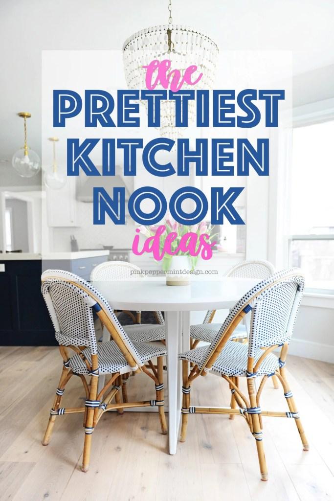 Prettiest kitchen nook ideas