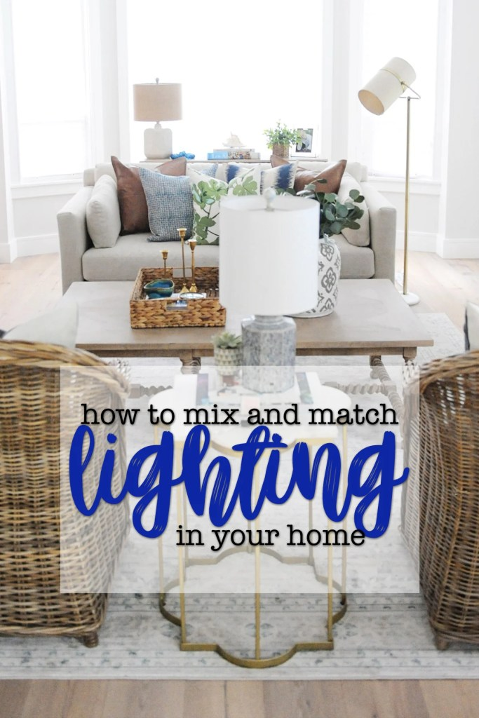 Matching Lighting Sets : Should Light Fixtures Coordinate Throughout the House?