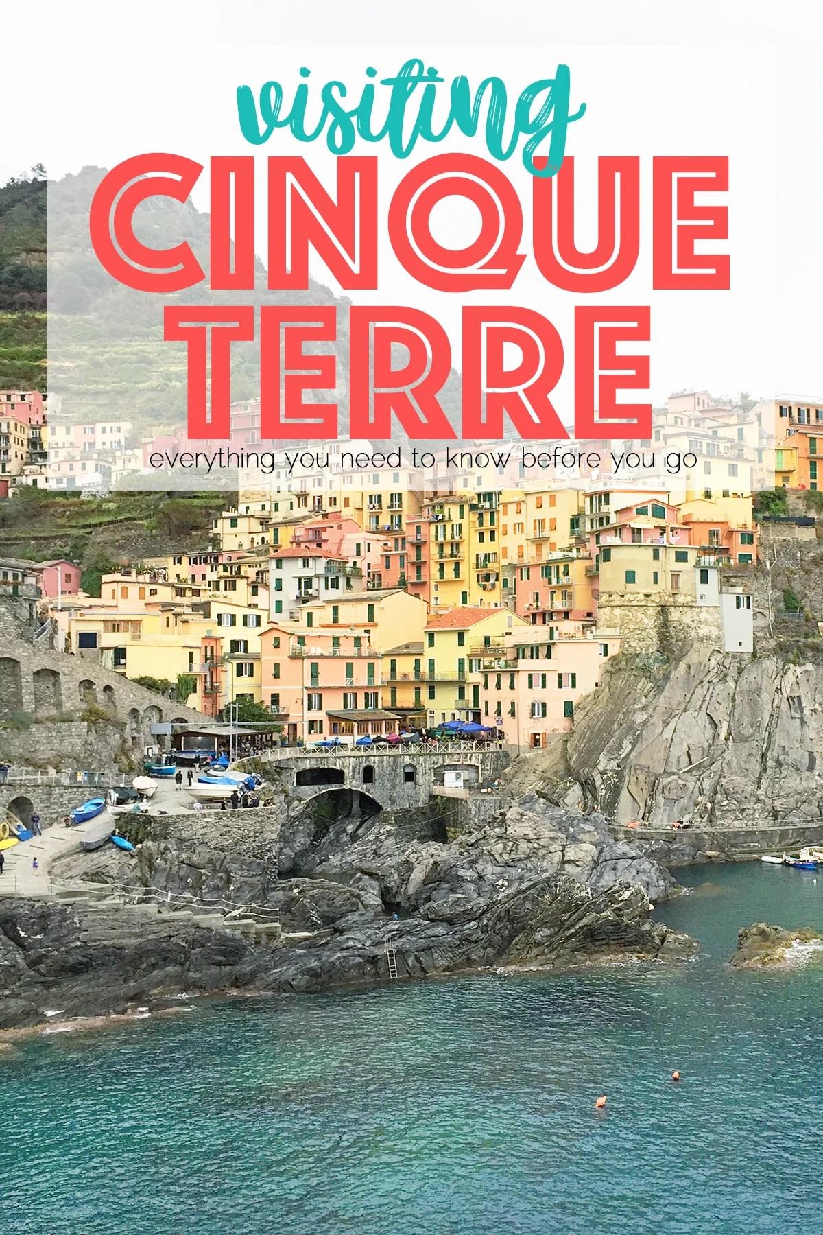 Cinque Terre Villages : Touring Italy