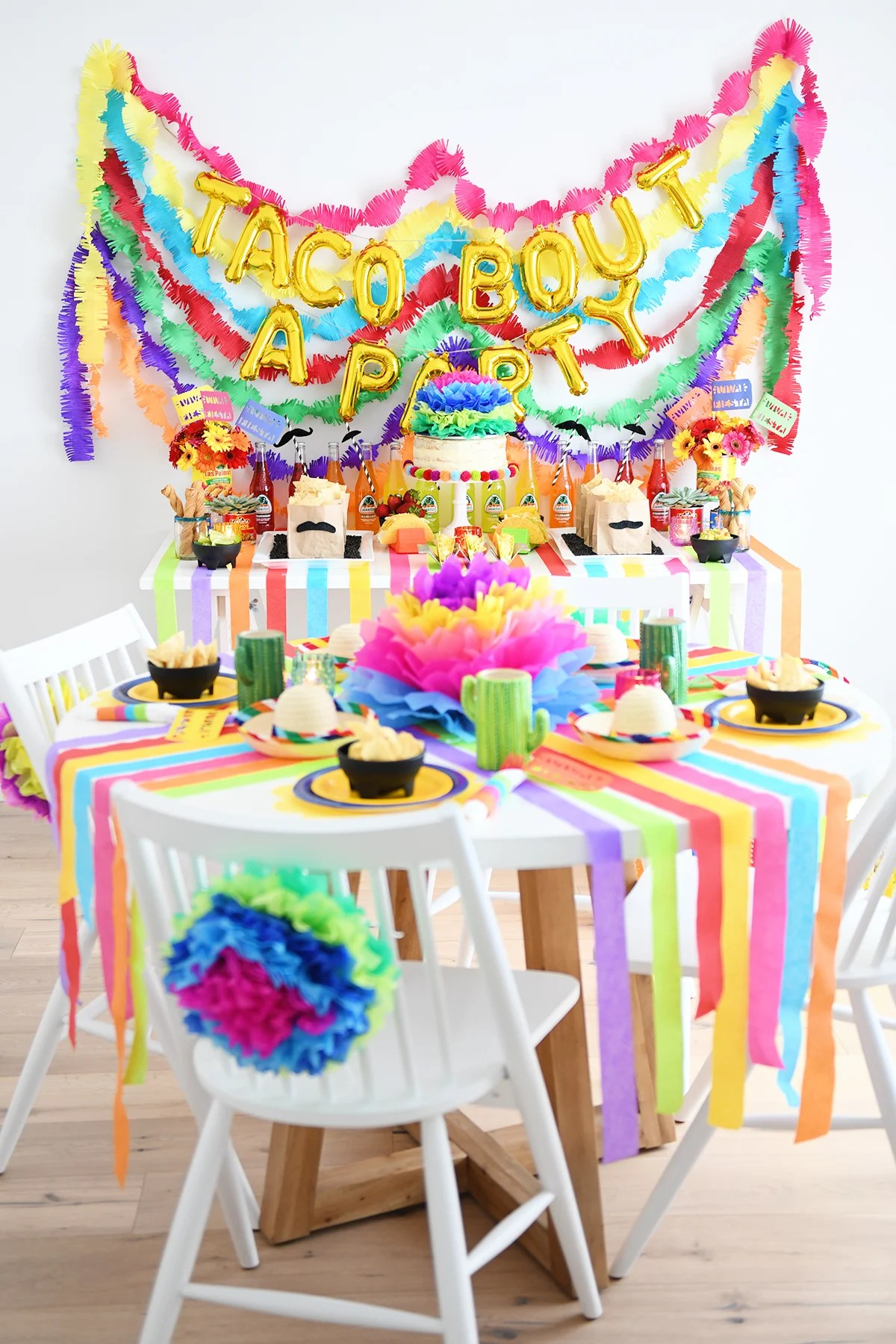 Taco Bout A Party Fiesta Party Ideas Pink Peppermint Design