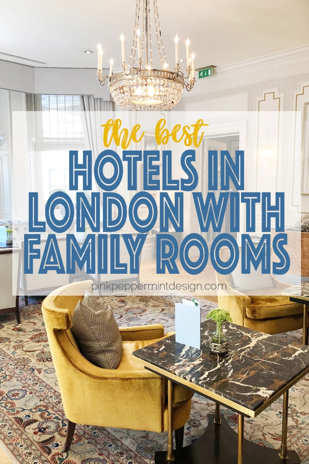 Hotels in london with family rooms 1