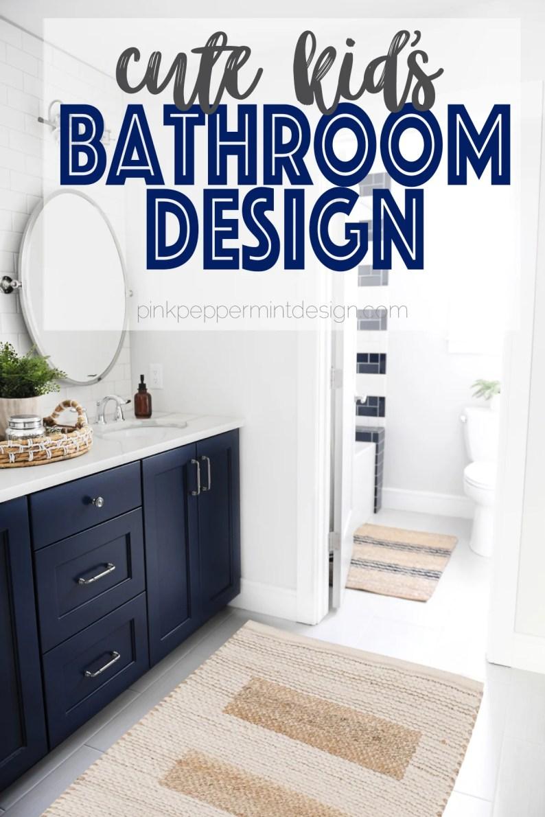 Kids Bathroom Design Ideas: Kid\'s Bathroom Makeover Reveal ...