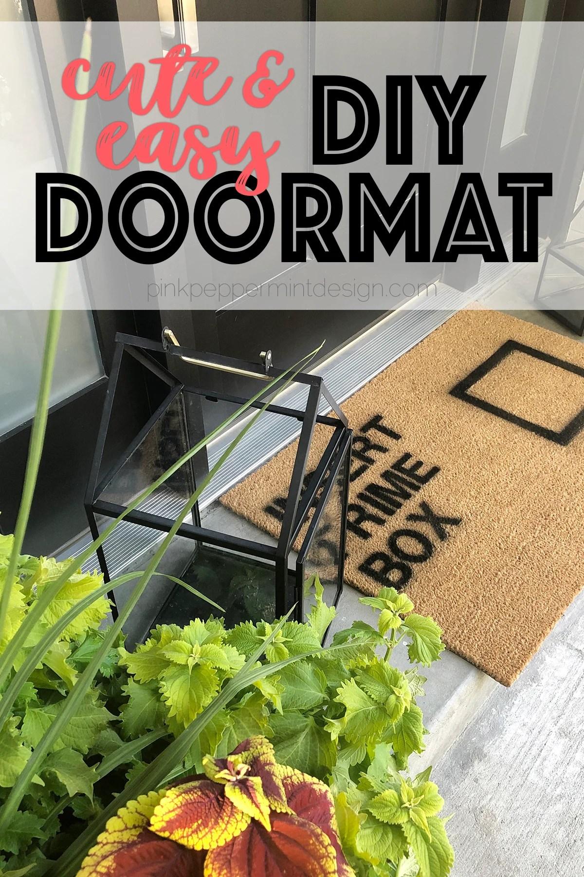 DIY Doormat : Welcome Mat Ideas