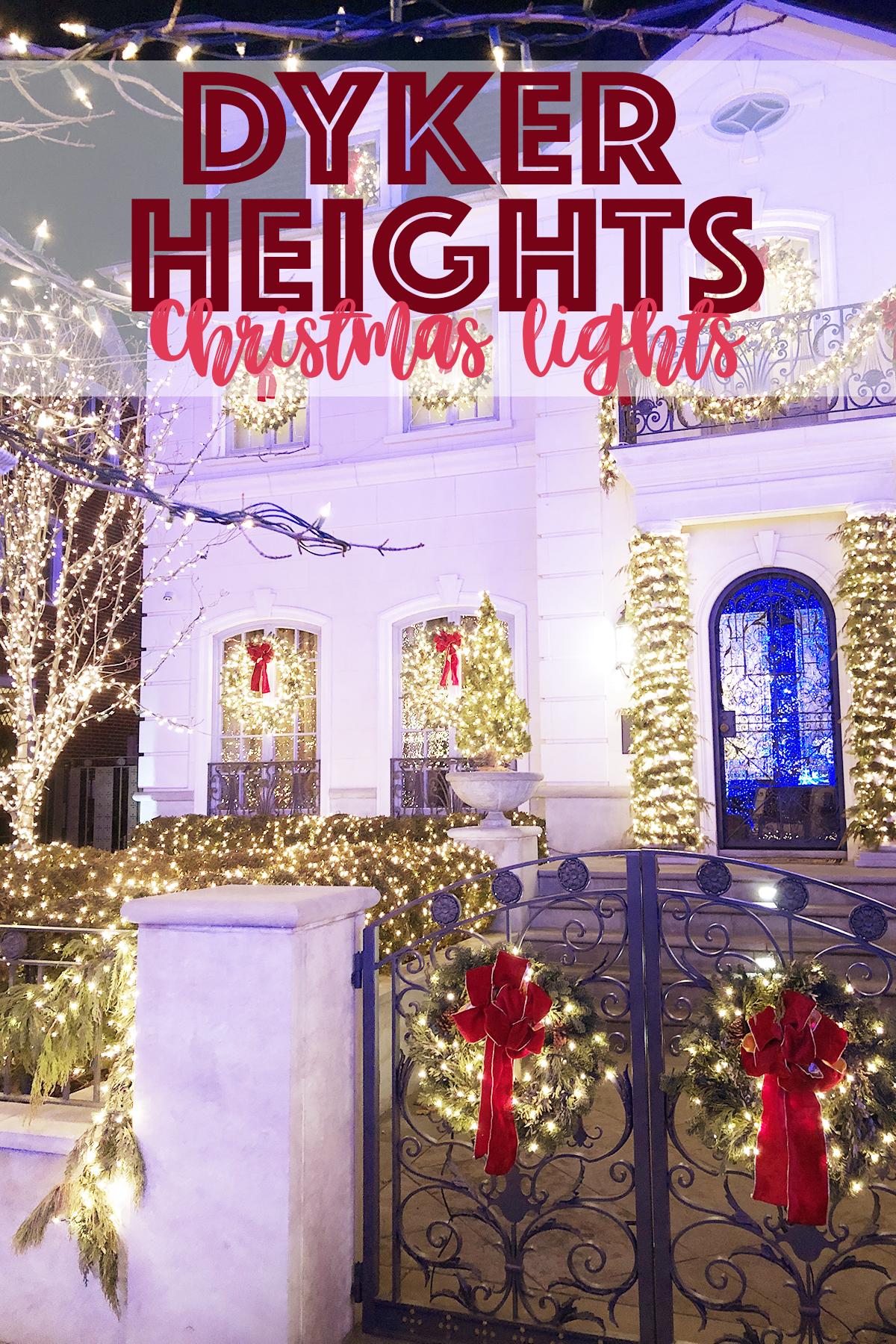Dyker heights christmas lights 2