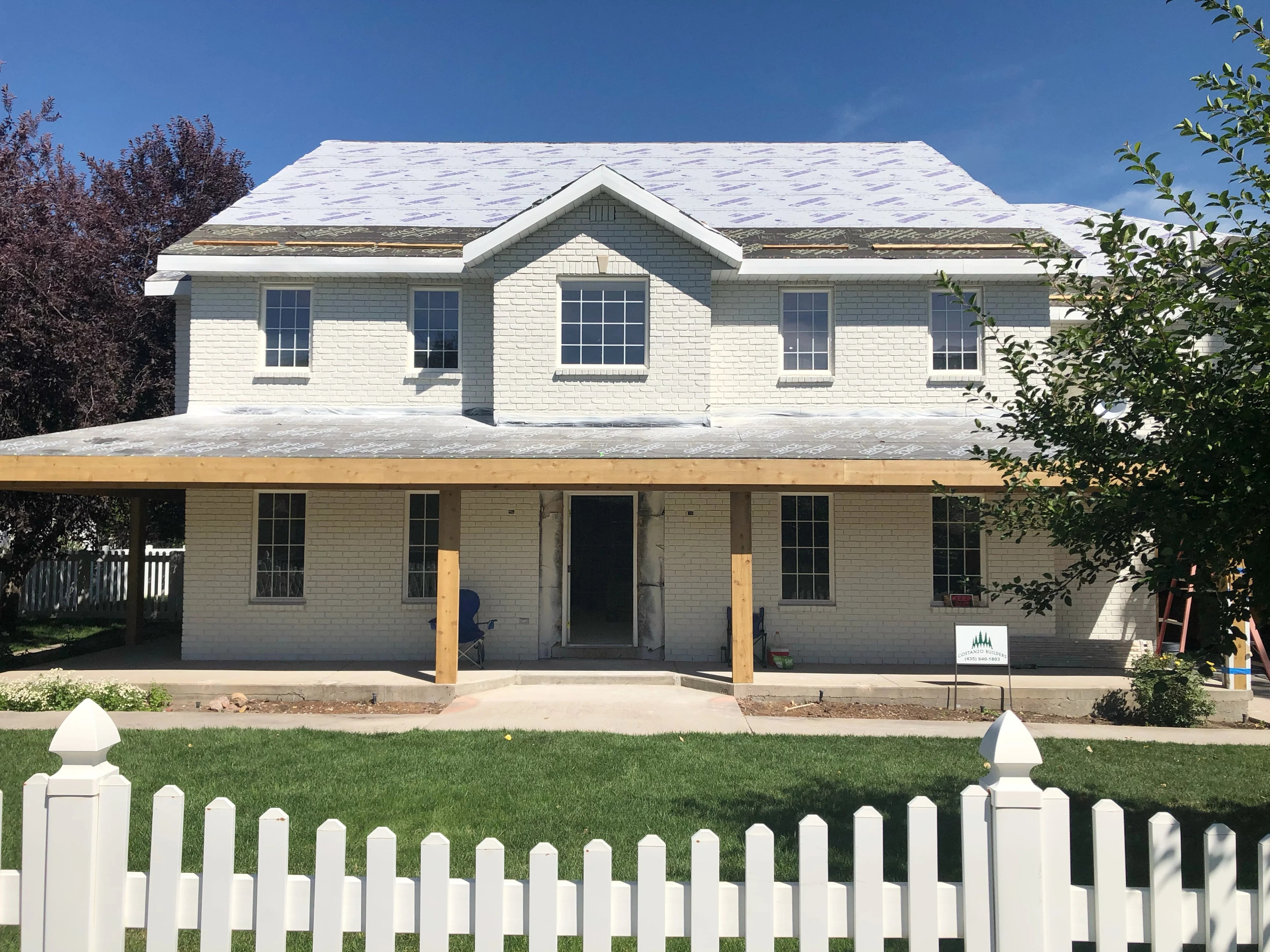 Midway Modern Farmhouse Plans with Wrap Around Porch