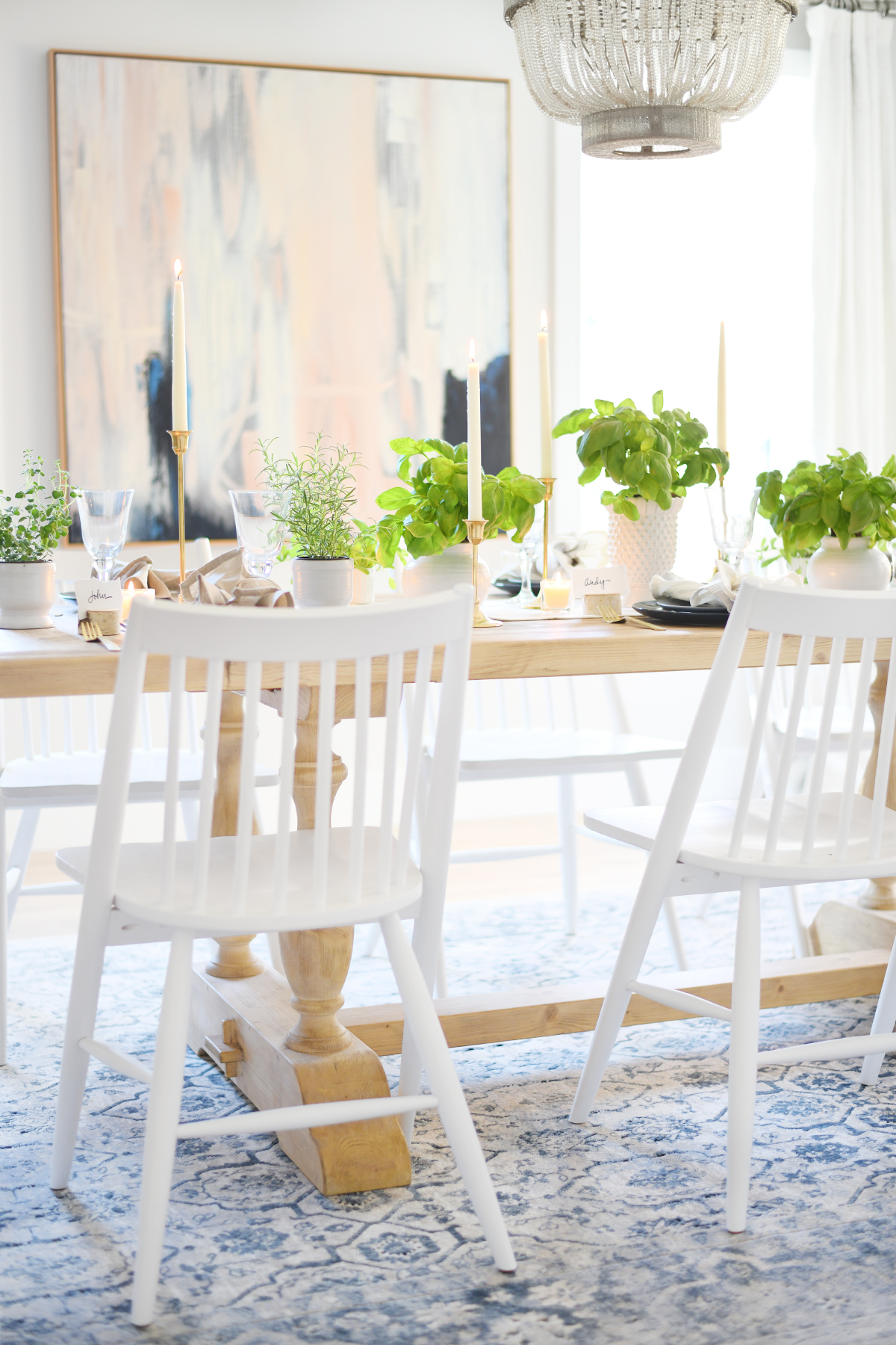Thanksgiving table setting 9