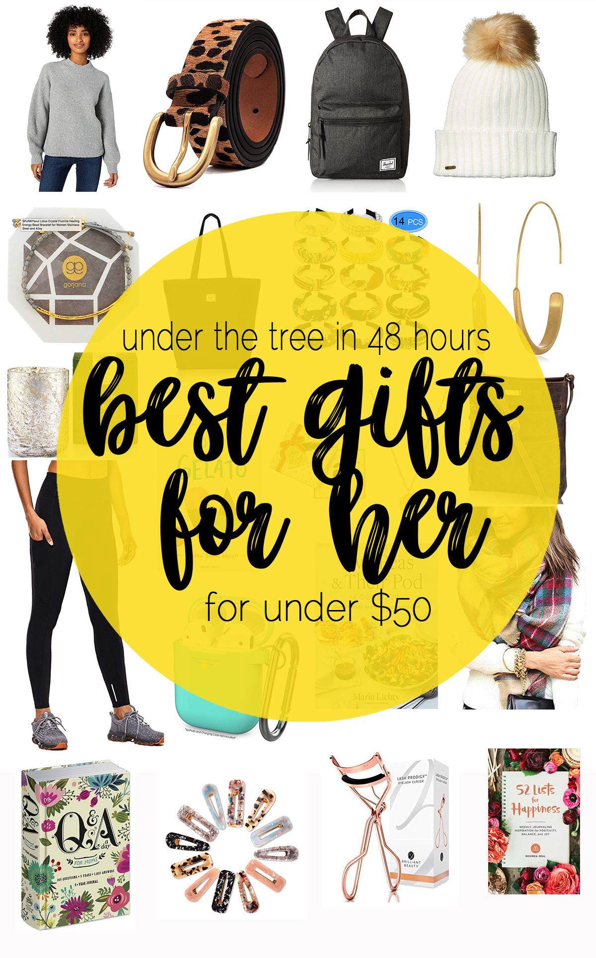 Best Gifts for Her Under $50 in Under 48 Hours with Amazon Prime
