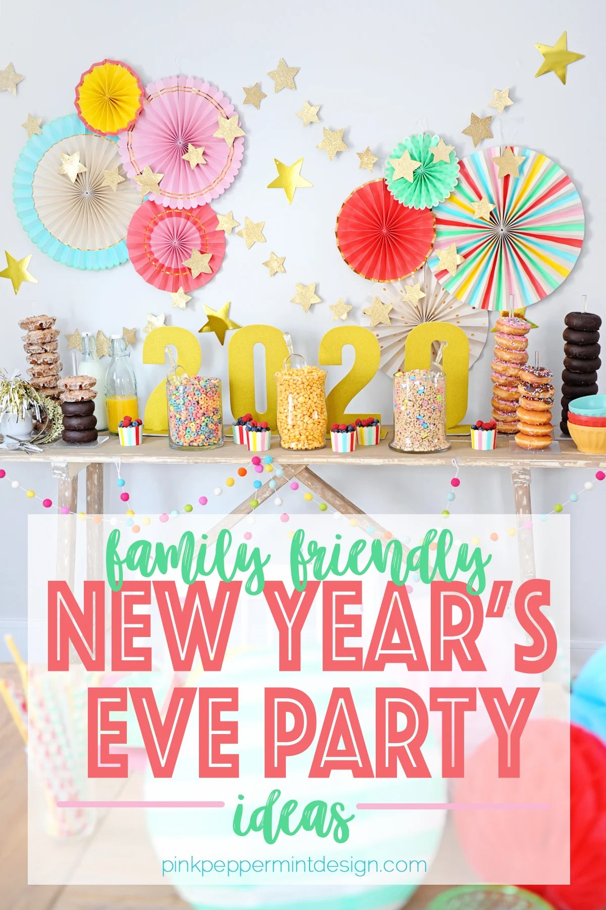 Family Friendly New Year's Eve Party : New Year's Eve Brunch Party