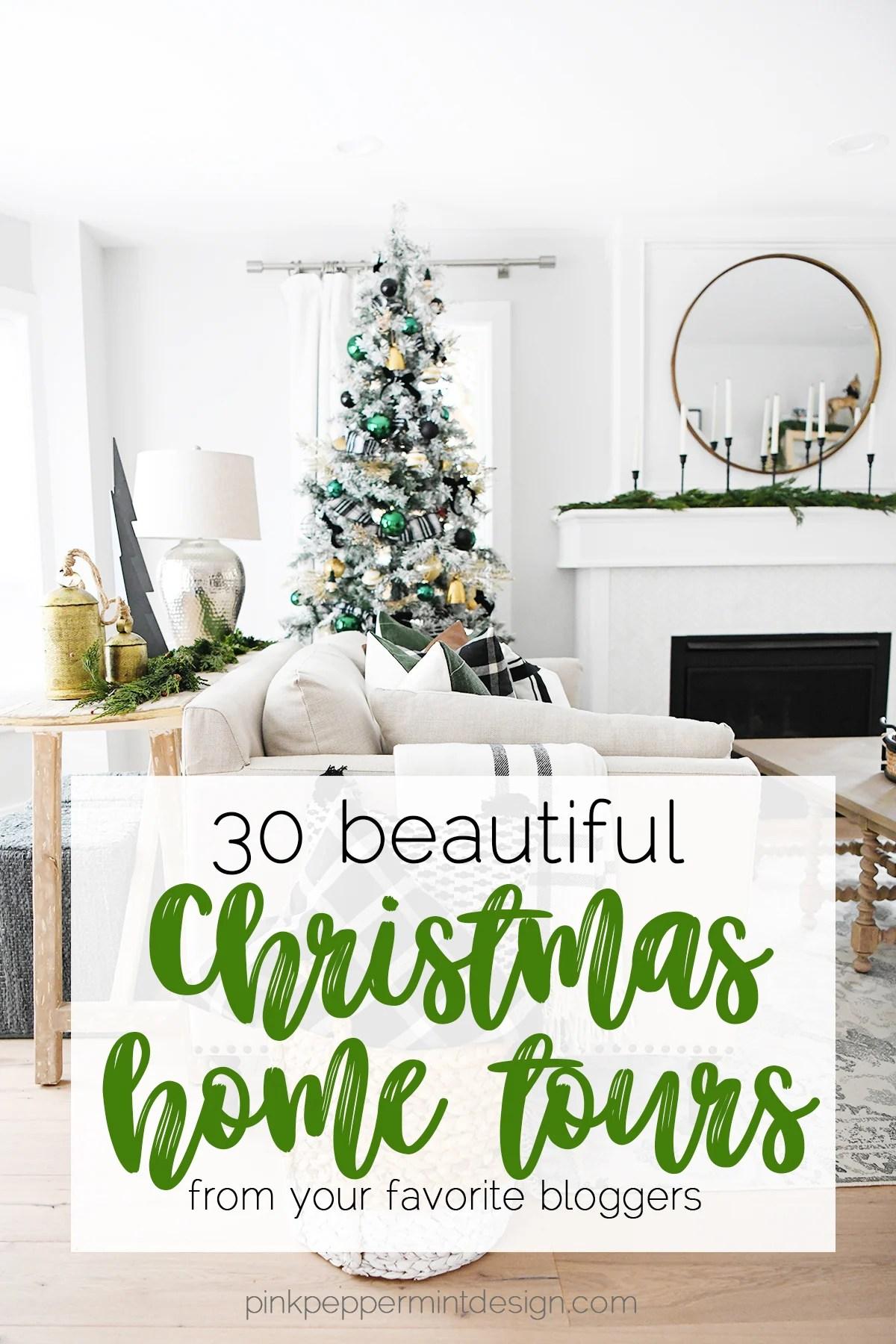 Our Modern Christmas Tree : 30 Gorgeous Christmas Home Decor Tours