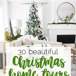 Modern christmas tree decor