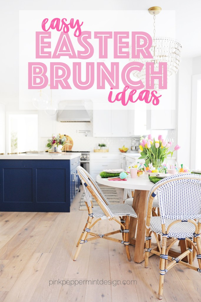 Easy easter brunch table decor ideas