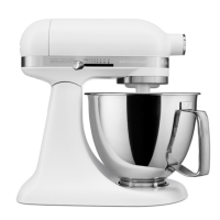 KitchenAid® Artisan Mini with Flex Edge Beater, Matte White