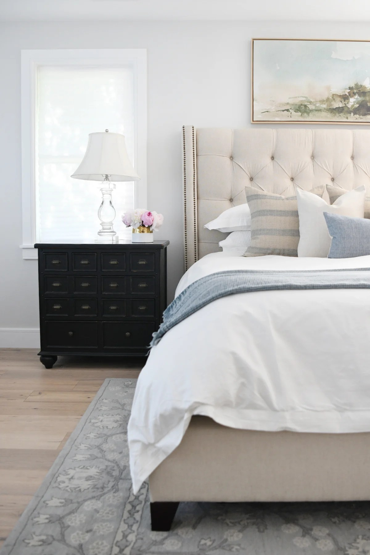 Modern Master Bedroom Ideas : Our Summer Home Tour
