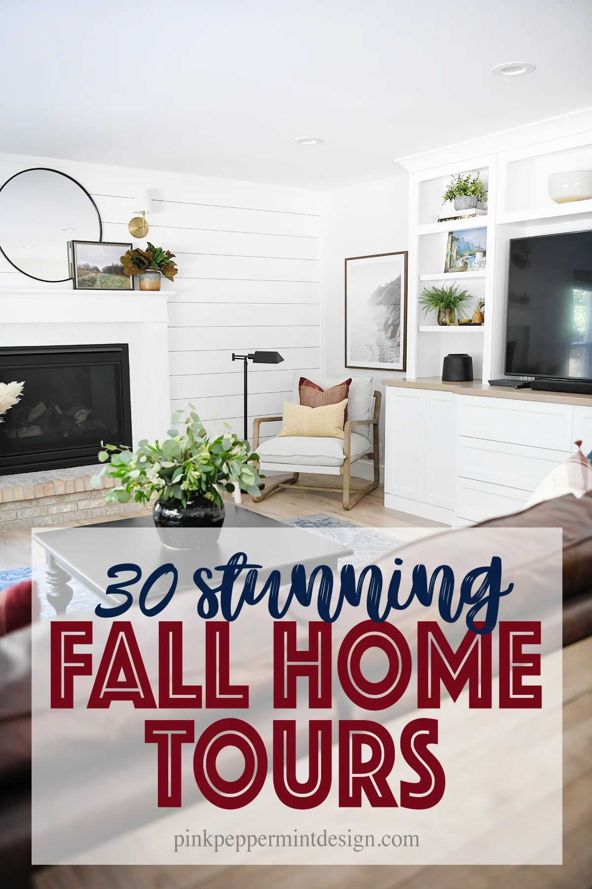 30 Stunning Fall Decorating Ideas and Our Family Room Design