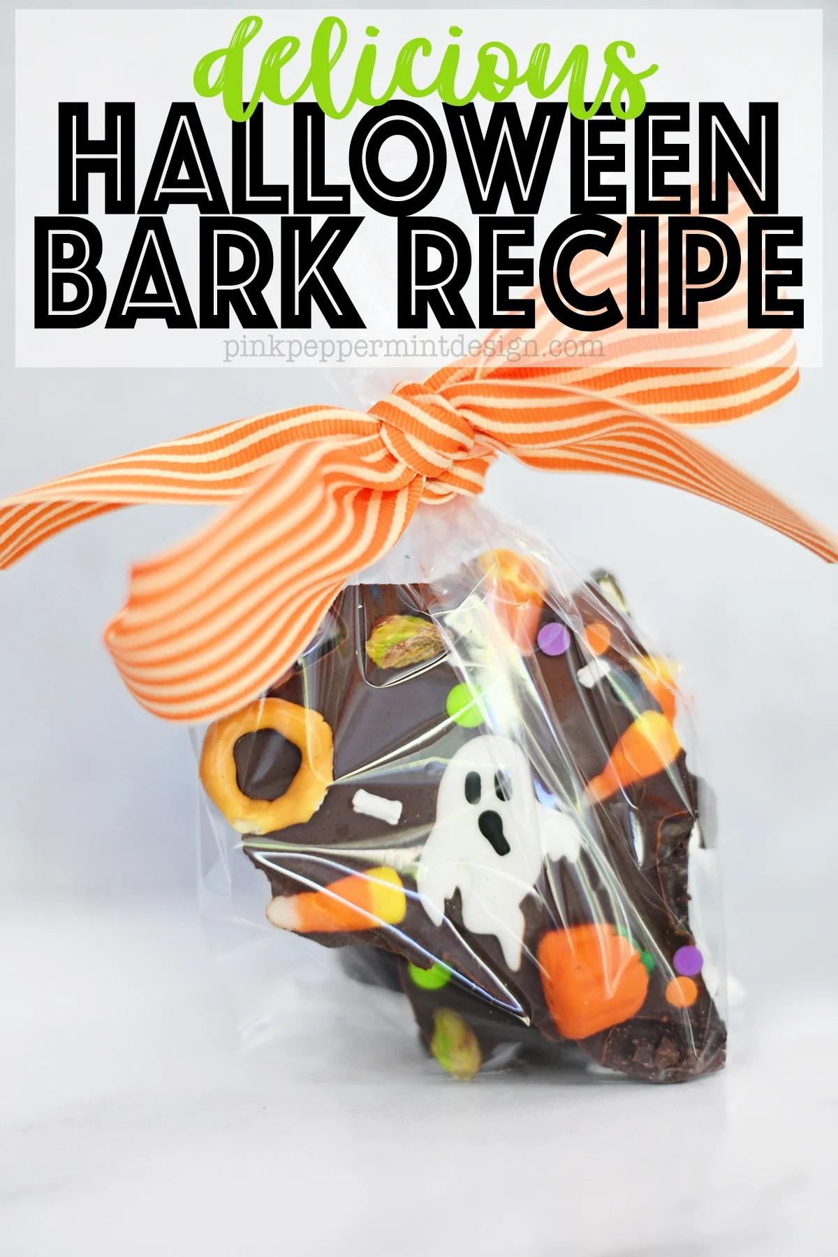 Delicious halloween bark recipe