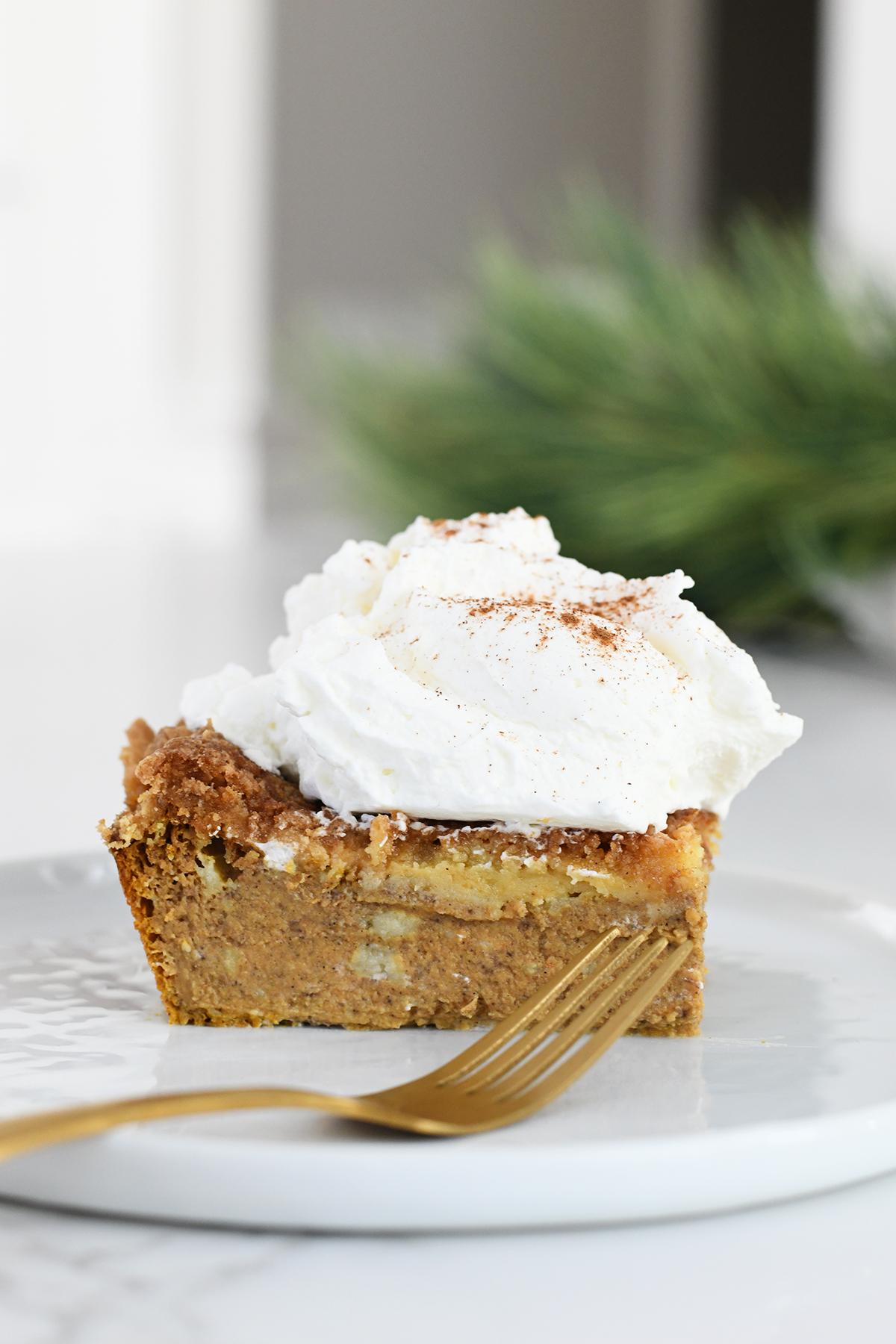 A delicious pumpkin dessert for Thanksgiving