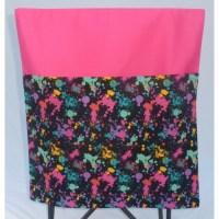 School Chair Bags   Splatter on Hot Pink   Pink Petunias