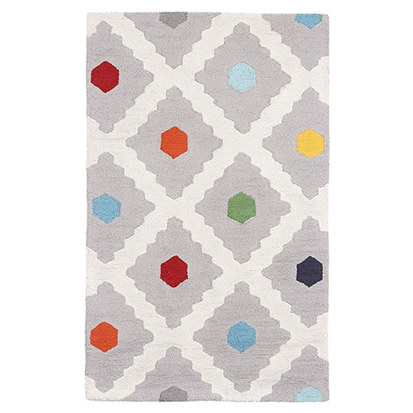 Pottery Barn Kids Multi Dot Rug