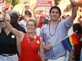 Trudeau and Wynne
