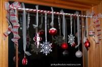 Christmas Window Treatments - Pink Polka Dot Creations