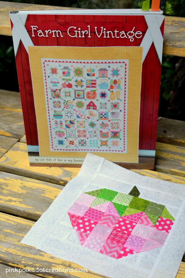 Lori Holt Farm Girl Vintage Book Pink Polka Dot Creations