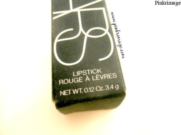 Nars afghan red lipstick review