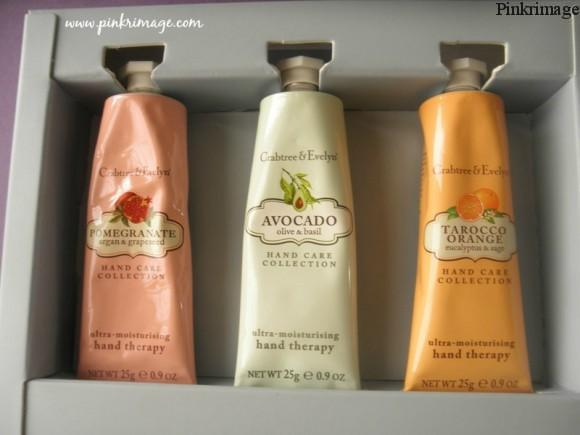 Crabtree & Evelyn hand cream review india